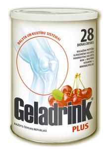 Geladrink® PLUS ar ķiršu 340g