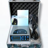 Iekārta detoksikācijai ar jonizēšanu, ar LCD displeju